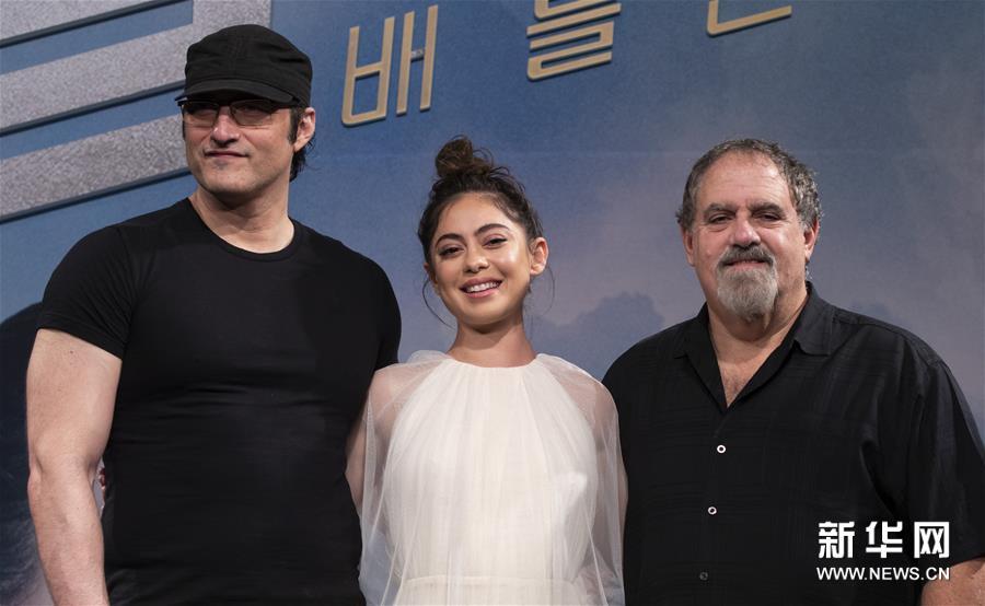 电影《阿丽塔:战斗天使》在首尔举行发布会