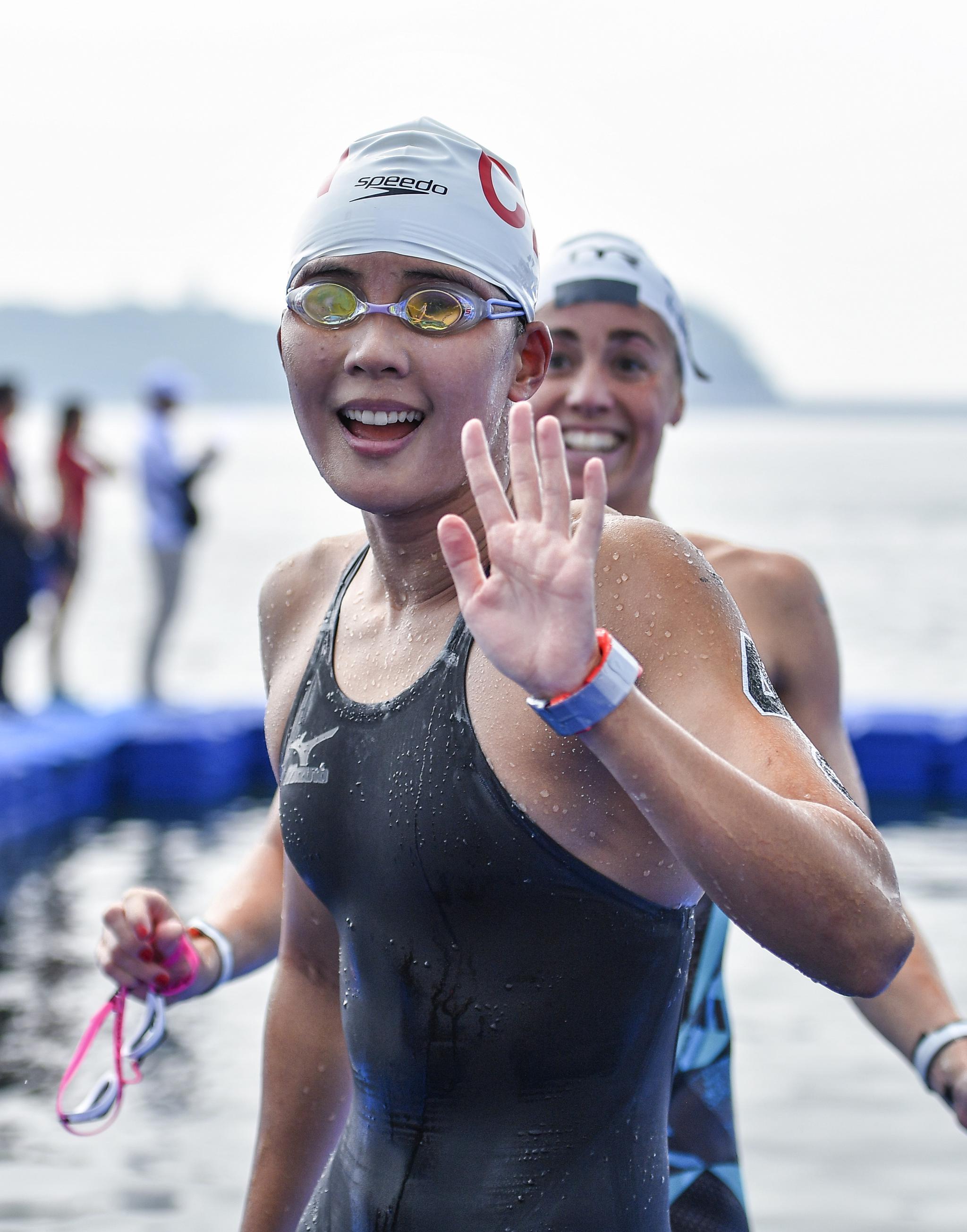 辛鑫将参加马拉松游泳世界系列赛千岛湖站比赛