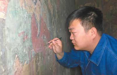 文物修复师:修复壁画是件挺美的事-纸币收藏