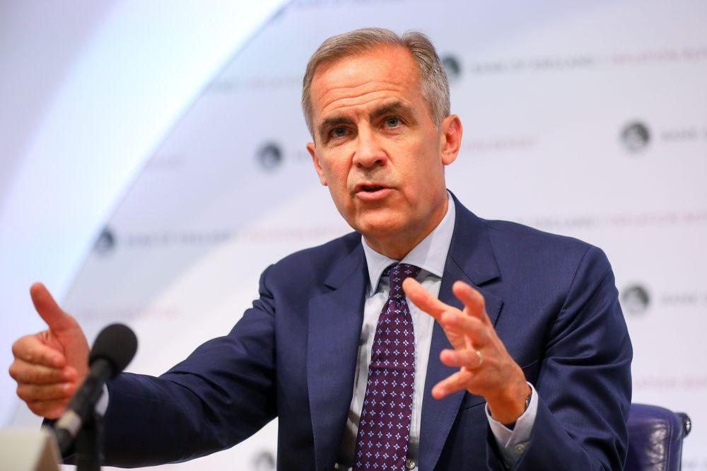 英国央行行长卡尼:英国无协议退欧将意味着加息