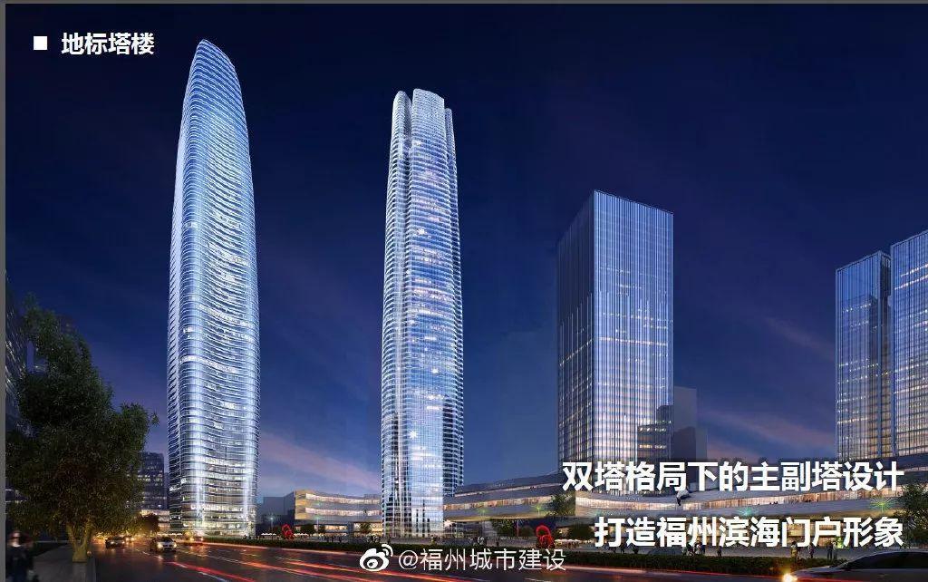 """重磅!福州将添新""""双塔"""",250米超高层!就在……"""
