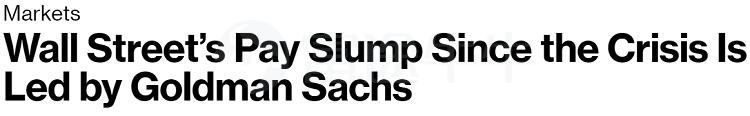 """次贷危机至今,华尔街""""街薪""""已腰斩"""
