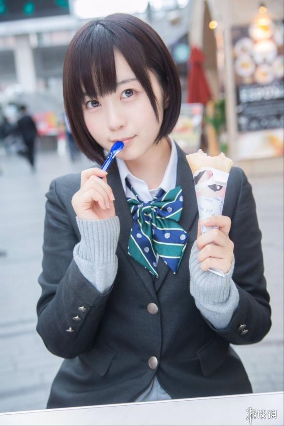 日本超萌女高中生 肉感身材俏丽短发虏获绅士们的心