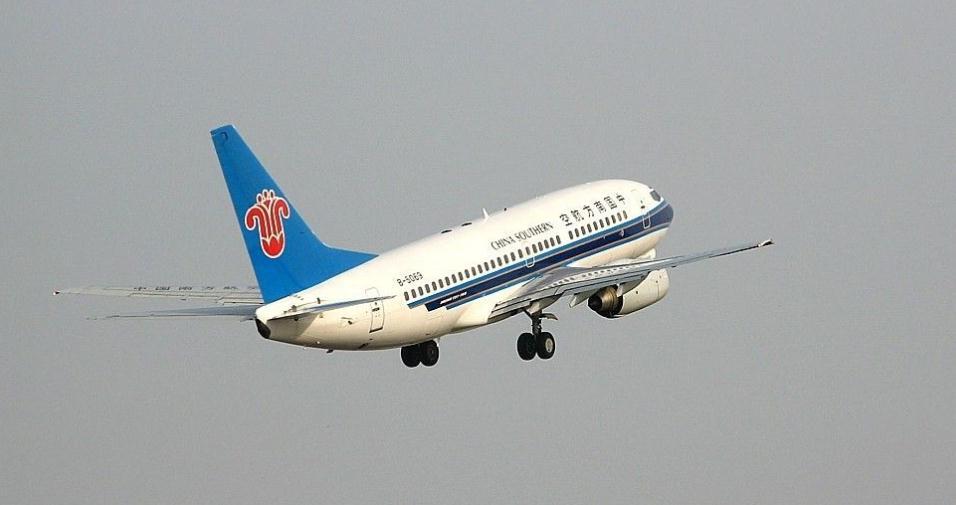 中国南方航空所购BOEING 737-700客机