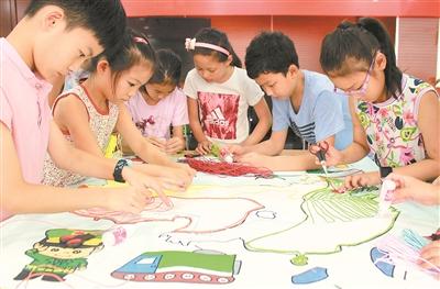 小手绘出美丽中国|美丽中国|地图|彩绳_新浪新闻