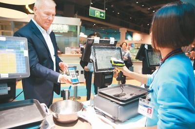 移动支付突破障碍 外国游客也能