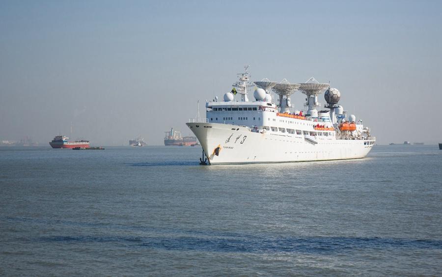 远望3号船圆满完成2次海上测控任务胜利返航