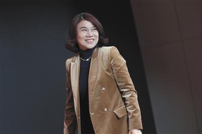 2017年10月30日,格力电器董事长董明珠在北京参加一场论坛活动。新京报记者 朱骏 摄