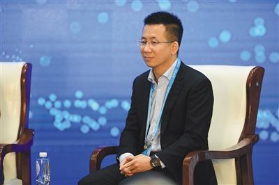 今日头条创始人兼首席执行官张一鸣。新京报记者 吴江 摄