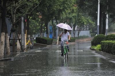 """未来一周北京每天都有雨 释疑为何暴雨并不""""暴"""""""
