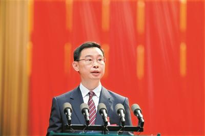 广州市十五届人大四次会议开幕