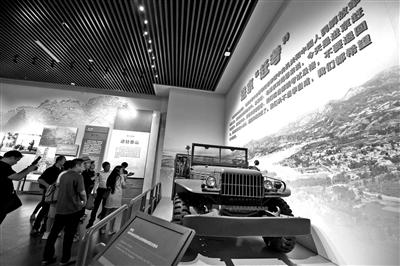 毛泽东从西柏坡进京时乘坐的同型讲偶凶普车