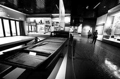 束缚军渡江战争利用的木船