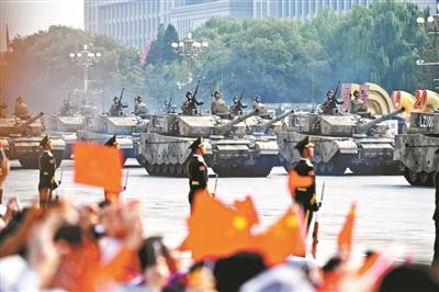 阅兵直播现场 供图/视觉中国