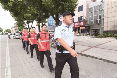 """扬中新坝派出所:构建""""五联""""立体防控,筑牢平安基石"""