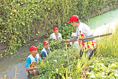 """江西南昌县通过""""三四五""""举措,让党员志愿者—— 像种子一样扎根基层"""