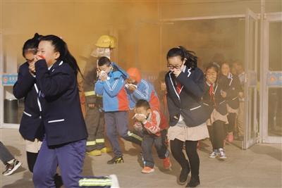 冬季消防疏散应急演练