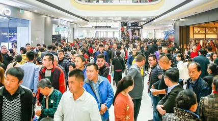 开业首日,聊城万达广场总客流超过26万人次