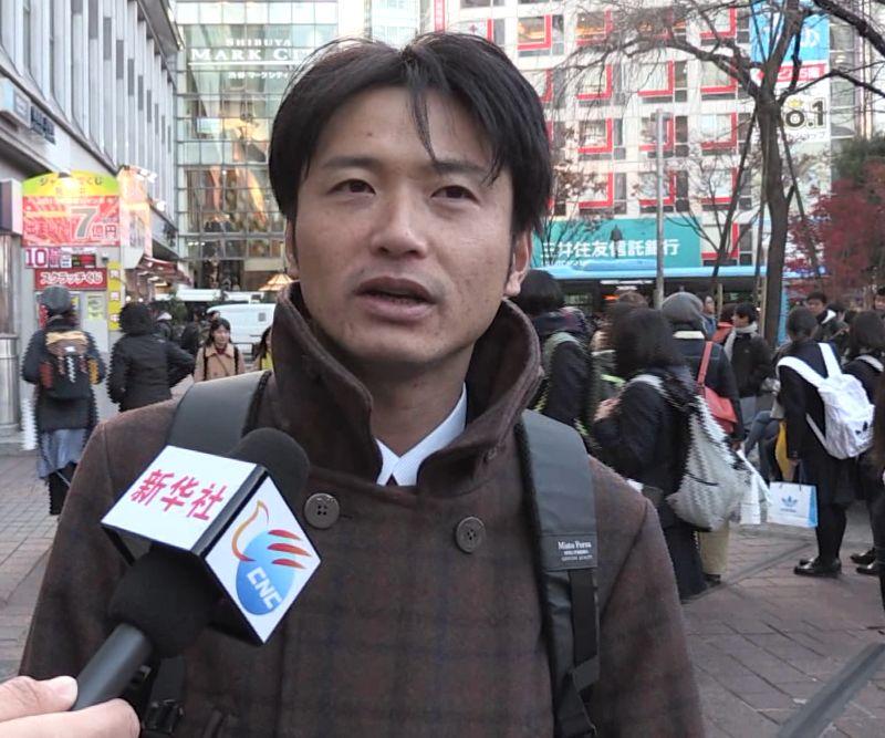 梁田江接受采访。(视频截图)