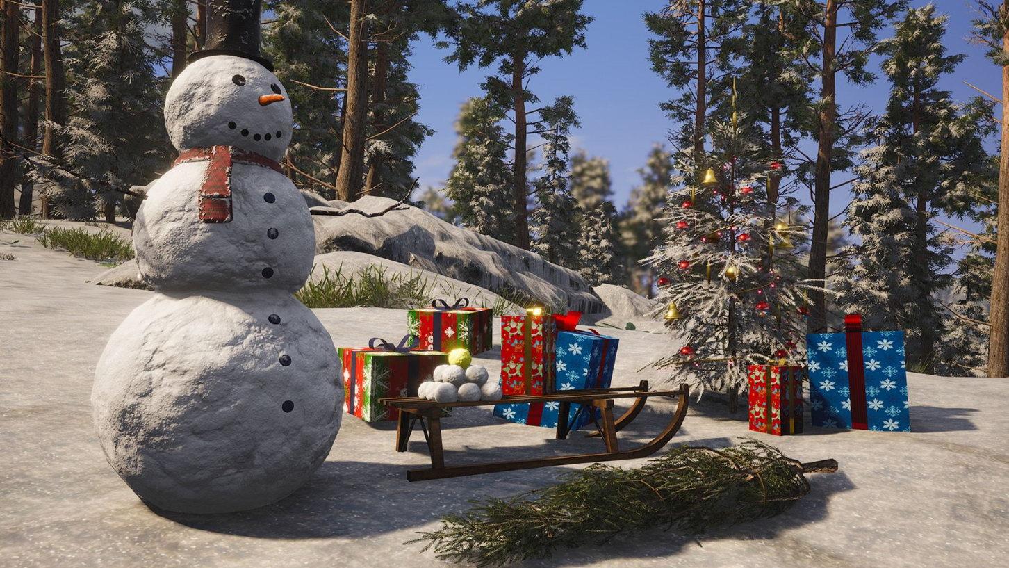 """生存大作《人渣》圣诞主题更新 给私处""""穿上外"""