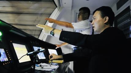 """培训考试加实操,济南地铁3号线""""小蓝""""司机练成记"""