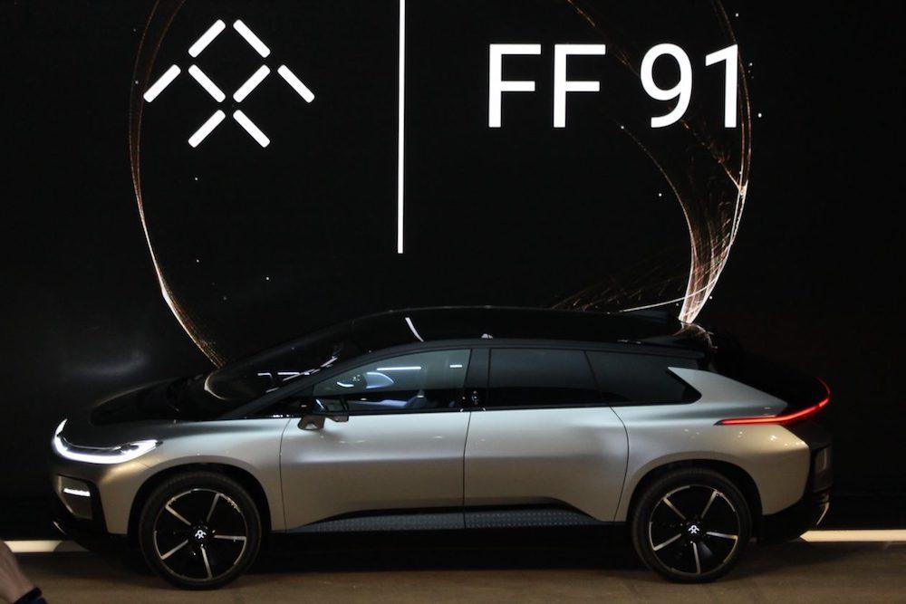 法拉第未来宣布两位高管加盟,将助力 FF 91 交付计划推进及股权融资