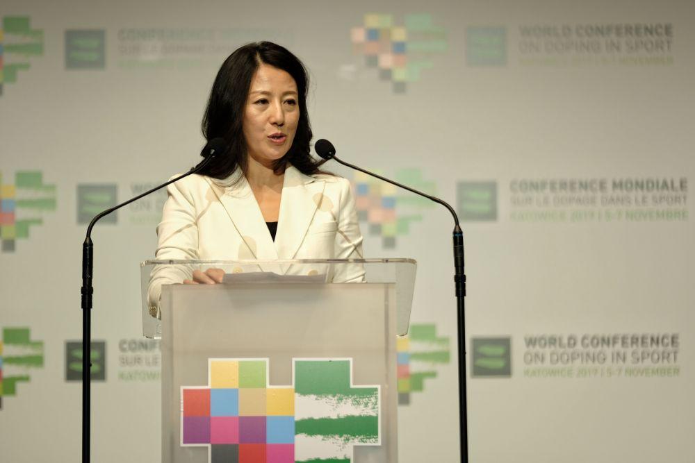 杨扬当选世界反兴奋剂机构副主席,将于明年正式上任