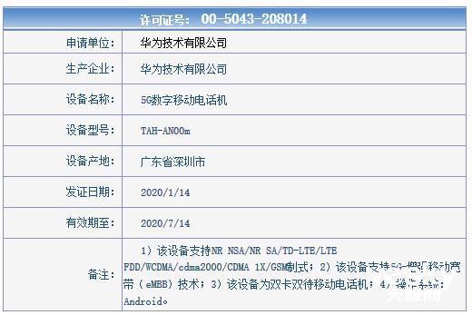 华为2020年首款旗舰折叠屏MateXs下月发:售价惊喜