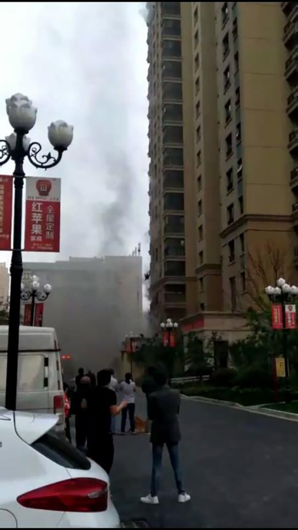 火灾救援现场。本文图片来自网络