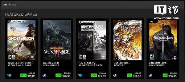 雷蛇游戏商店Razer Game Store推出:可获得独家折扣奖励