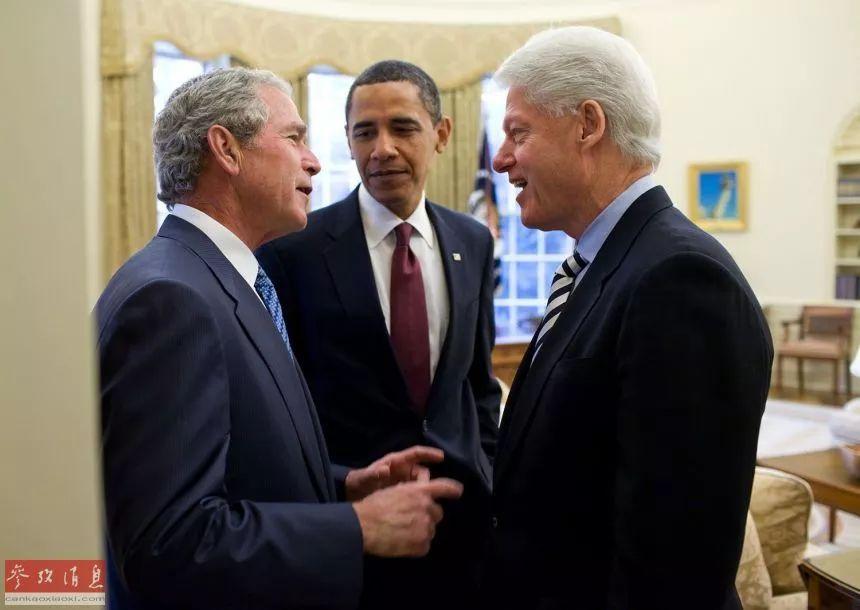 分别来自美国两党的克林顿、小布什、奥巴马三位总统,在任期内对朝态度不断反复