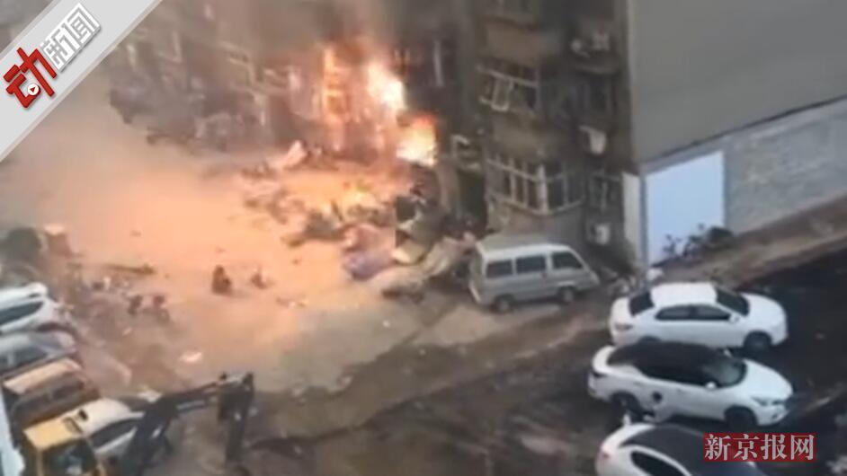 十多人受伤!河北一小区居民家中发生天然气爆炸