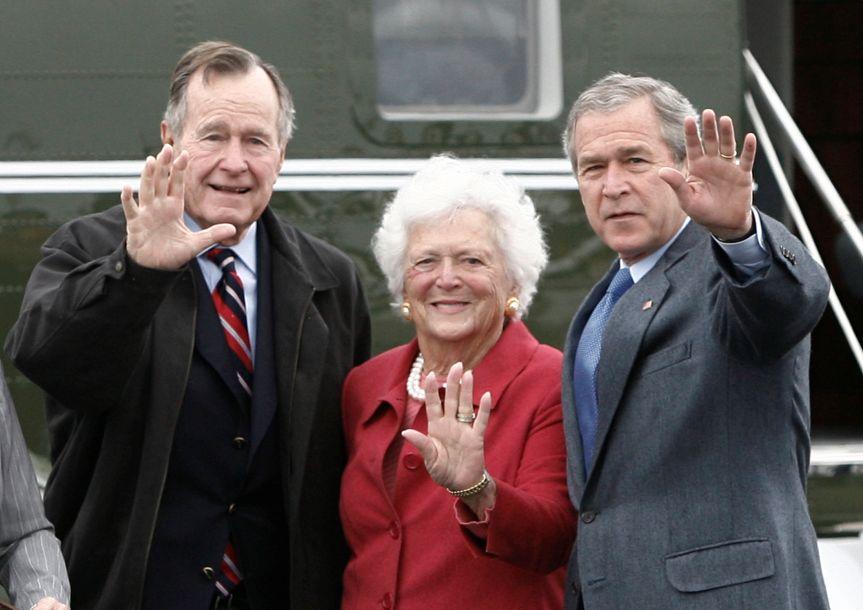 美国前第一夫人芭芭拉・布什去世
