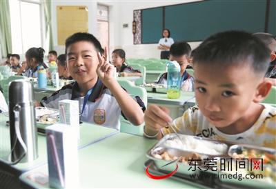 小一新生恢复校内午餐午休服务 每生预收2500元/学期