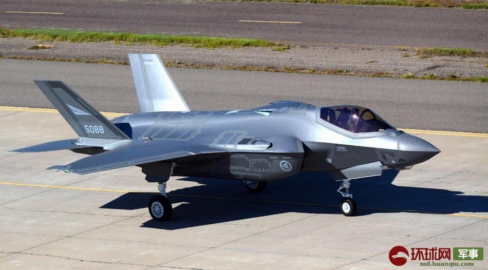 挪威最新到货的F-35战斗机