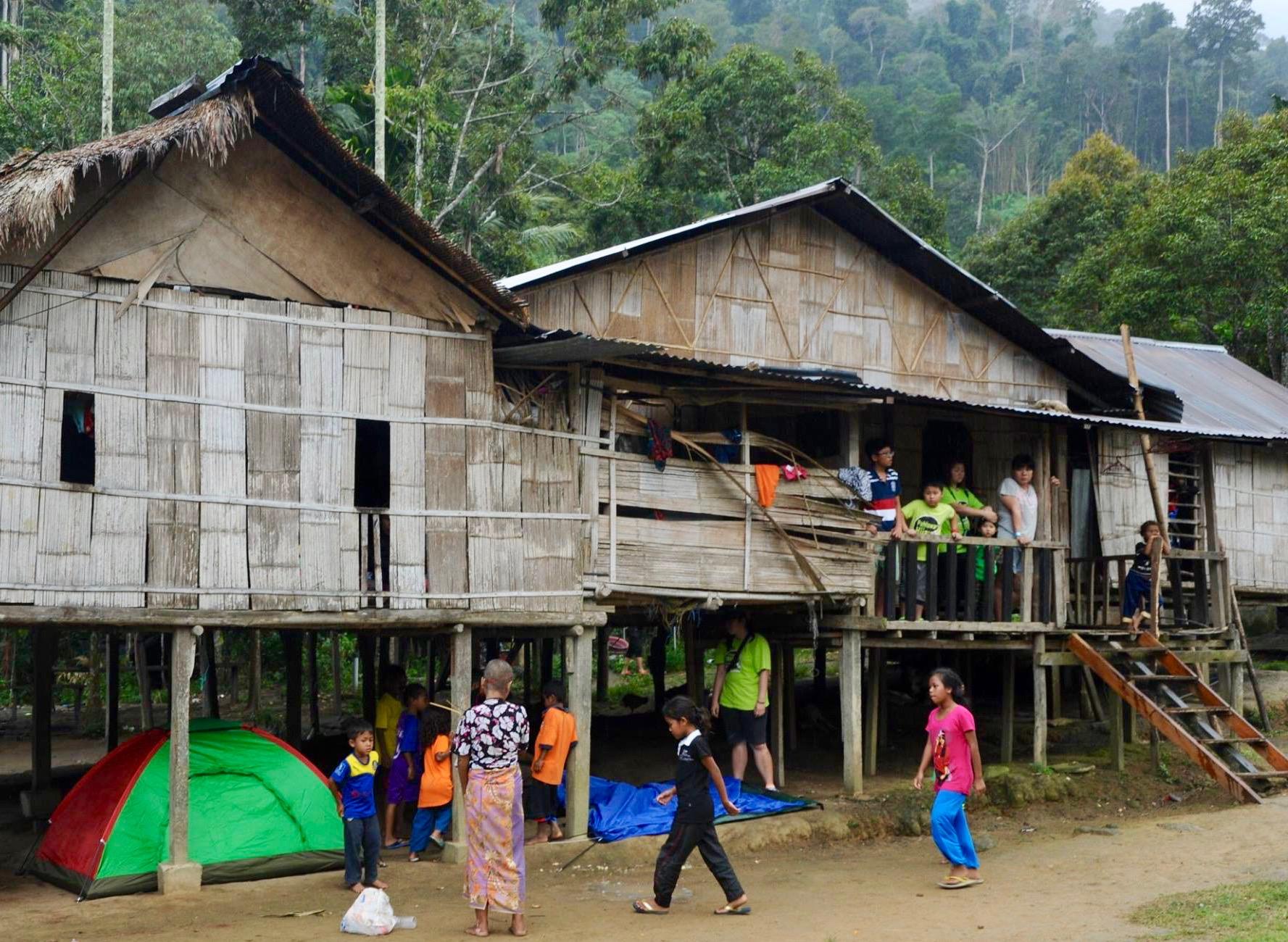 马来西亚彭亨州文东地区的原住民村庄