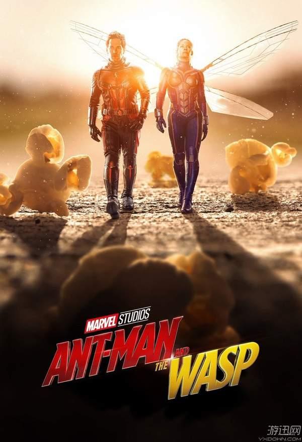 《蚁人2》海量新照曝光 撒狗粮、带女儿幸福指数爆表