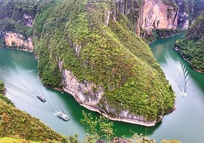 """小三峡里有条世界上最大的""""鱼"""""""