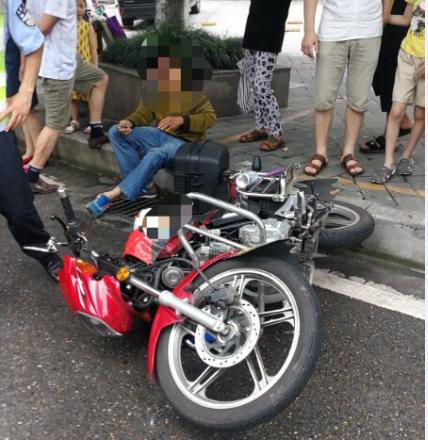 """渝北区龙山大队依法处理一起""""意外""""的交通事故"""