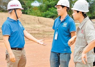 一带一路上的中国企业建设者:我建设,我绽放