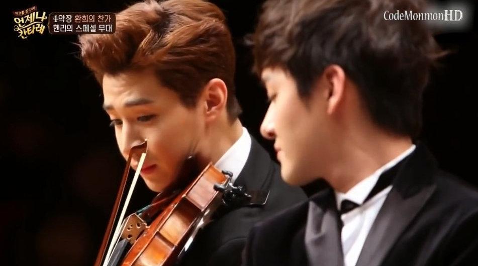 Henry刘宪华的经典小提琴表演,音乐小王子帅爆了