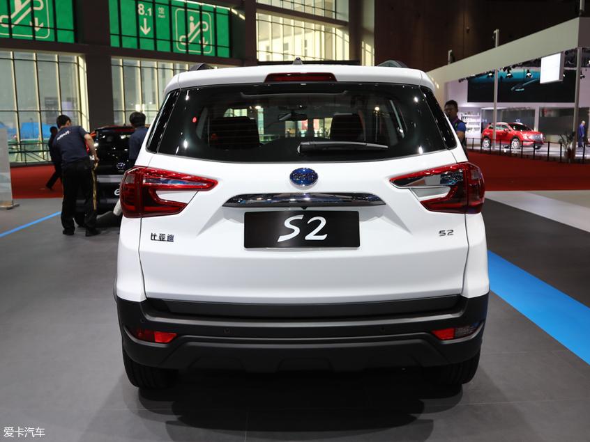 比亚迪S2正式下线 小型SUV/续航305km