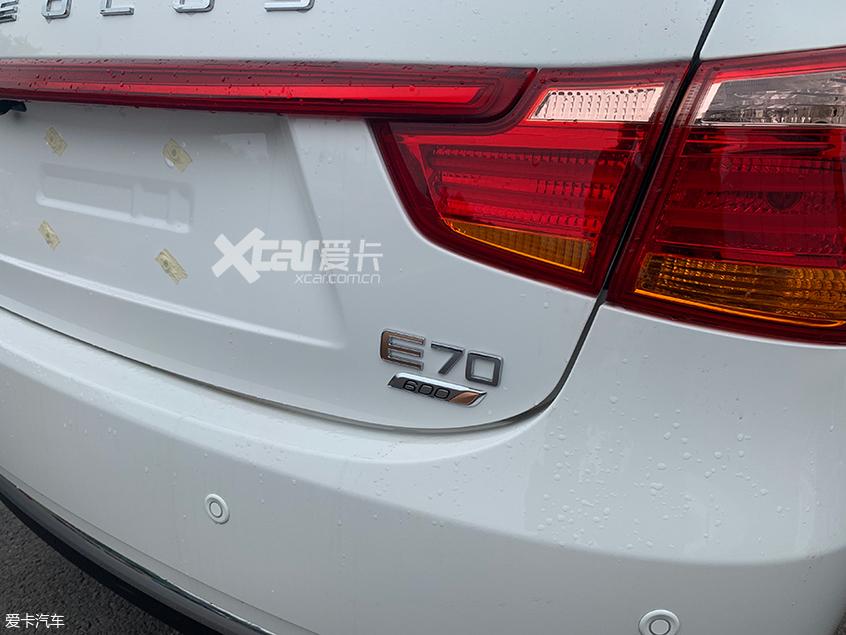 成都车展探馆 东风风神新款E70 600实拍