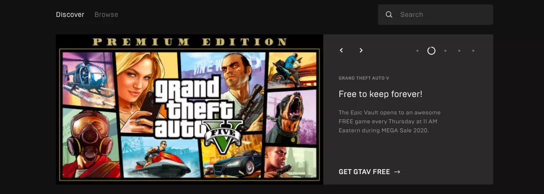 上线不到两年 Epic商店白送的游戏合计超过了1.4万元