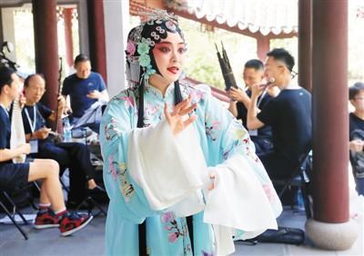 台湾姑娘苏州演绎昆曲经典