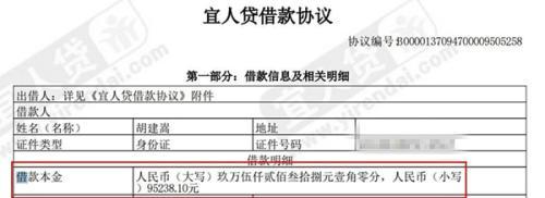用户称未经自己同意 收到宜人贷8万贷款