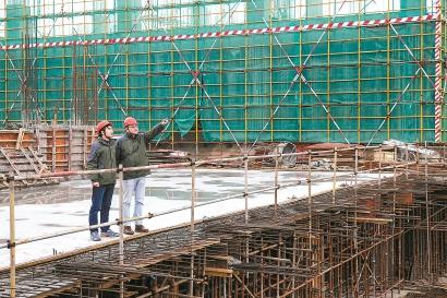 人勤春来早重大项目建设热火朝天 松江一批百亿级项目节后陆续复