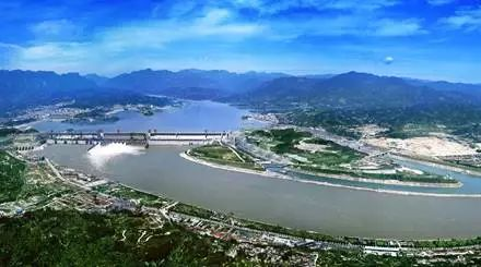 【图】三峡工程全景