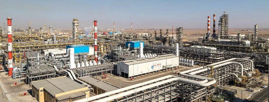▲延布炼厂具有世界抢先的炼化设备。