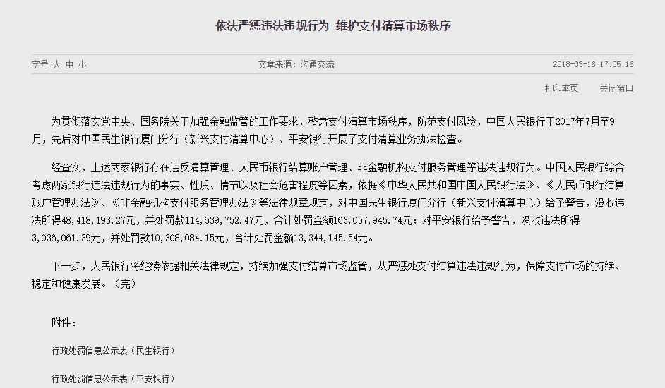 央行开出亿级大罚单 微博热搜 图1